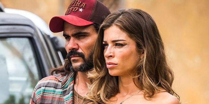 Imagem 4 - Juliano Cazarré e Grazi Massafera como Mariano e Lívia