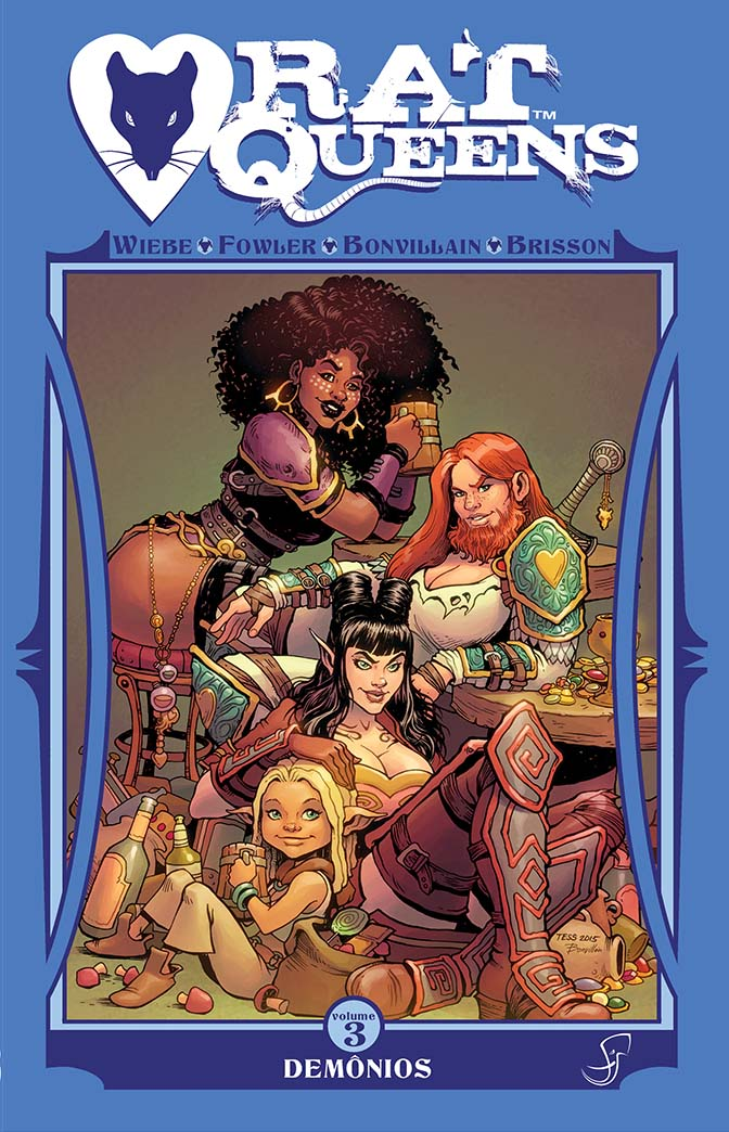 Rat Queens vol 3 Capa
