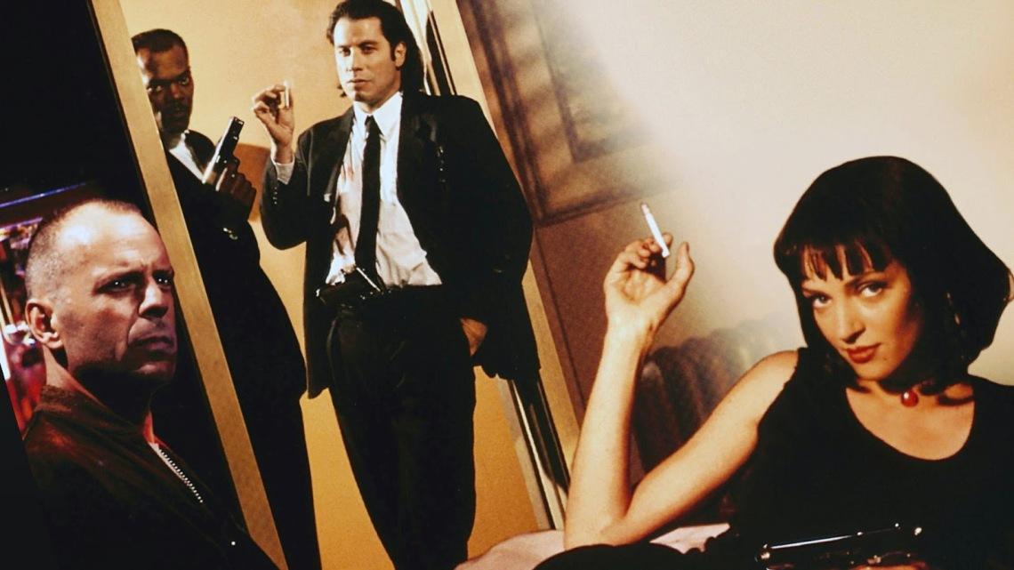 Resultado de imagem para Pulp Fiction - Tempo de Violência