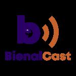 logo bienalcast transparente