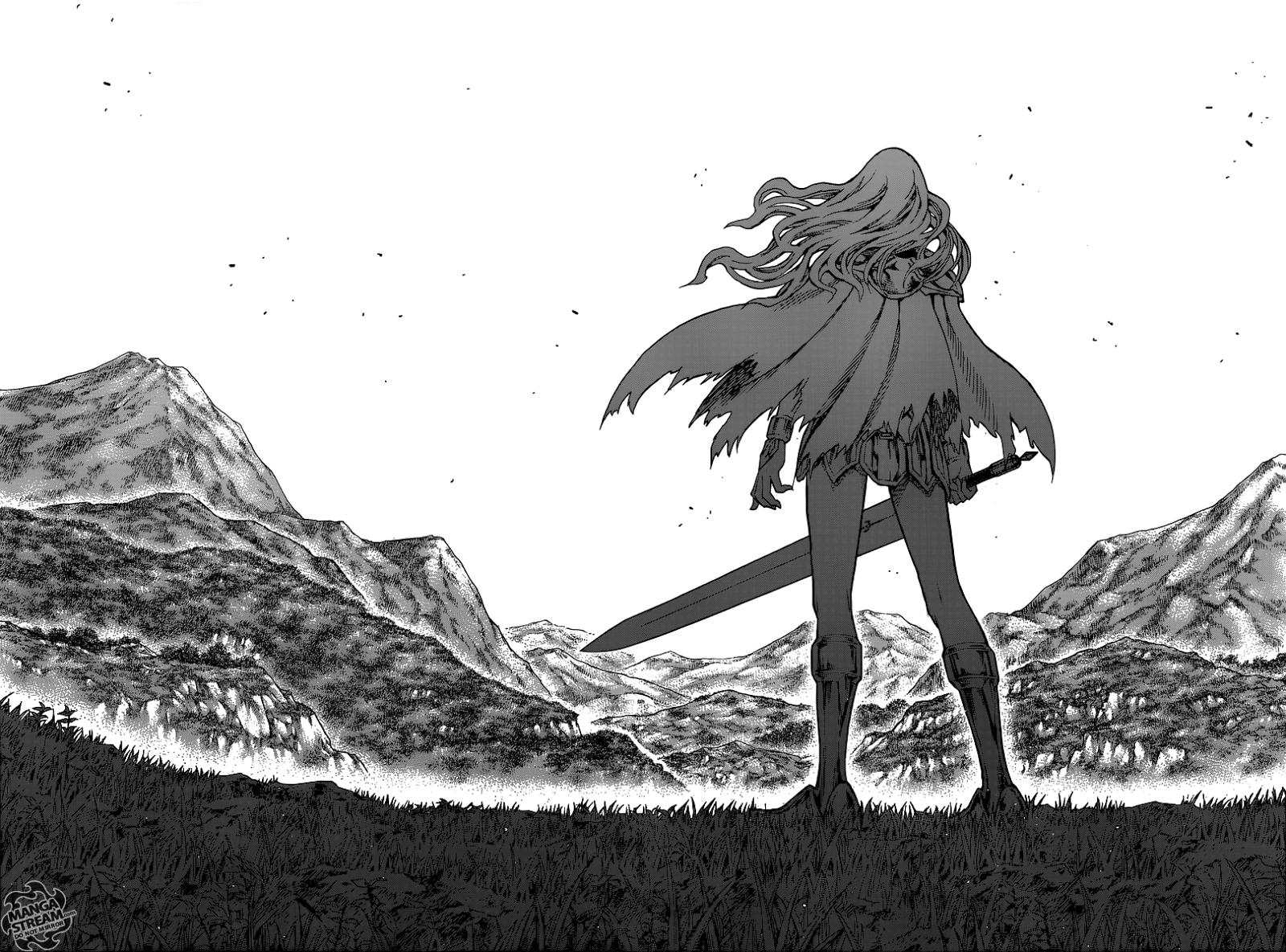 Writings by a random kid: Manga: Claymore 150: The Returning Blade